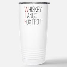 'WTF' Travel Mug
