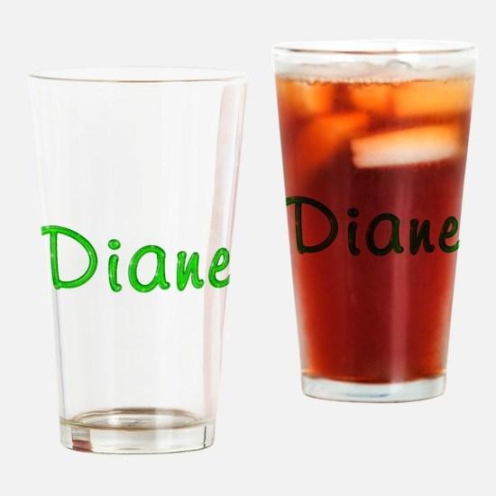 Diane Glitter Gel Drinking Glass