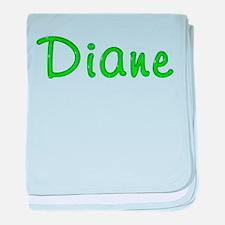Diane Glitter Gel baby blanket