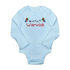 Warwick, Christmas Long Sleeve Infant Bodysuit