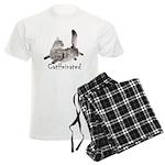 Catffeinated Men's Light Pajamas