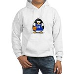 Basketball Penguin Hooded Sweatshirt