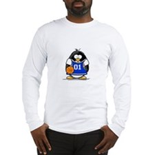 Basketball Penguin Long Sleeve T-Shirt