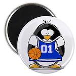 Basketball Penguin Magnet