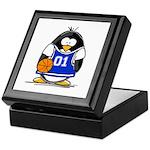 Basketball Penguin Keepsake Box