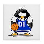 Basketball Penguin Tile Coaster