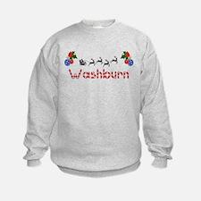 Washburn, Christmas Sweatshirt