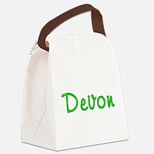 Devon Glitter Gel Canvas Lunch Bag