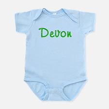 Devon Glitter Gel Infant Bodysuit