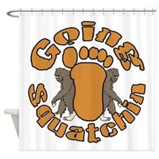 Going squatching 2 Shower Curtain