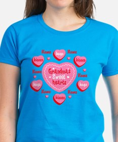 Grandma's Sweethearts Personalized Tee