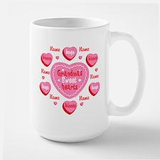 Grandma's Sweethearts Personalized Mug