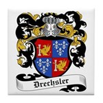 Drechsler Coat of Arms Tile Coaster