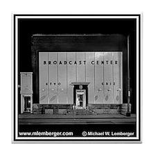 Broadcast Center Tile Coaster