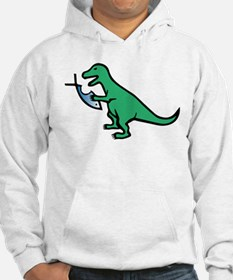 Atheism and T-Rex Hoodie