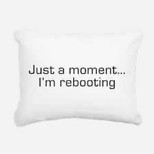 reboot.png Rectangular Canvas Pillow