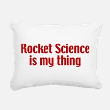 rocketscience2.png Rectangular Canvas Pillow