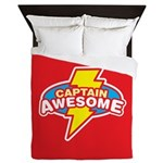 Captain Awesome Queen Duvet