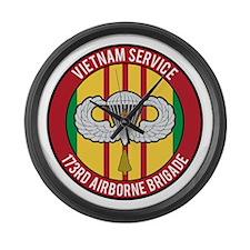 173rd Airborne Vietnam Large Wall Clock