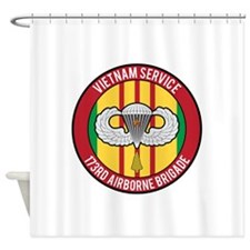 173rd Airborne Vietnam Shower Curtain