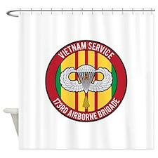 173rd Airborne Vietnam Shower Curtain