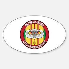 173rd Airborne Vietnam Sticker (Oval)