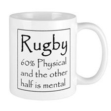 Rugby: 60% Physical Small Mug