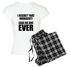 I hate Burpees Pajamas