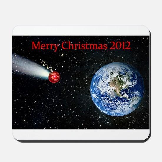 Christmas Apocalypse 2012 Mousepad