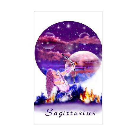 Sagittarius Rectangle Sticker