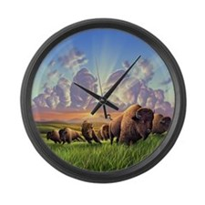 Unique Thunder Large Wall Clock