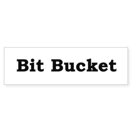 Bit Bucket Sticker
