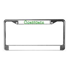 Constance Glitter Gel License Plate Frame