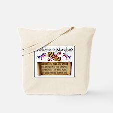 MARYLAND HIGH Tote Bag