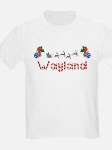 Wayland, Christmas T-Shirt