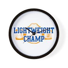 Lightweight Champ! Wall Clock