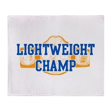 Lightweight Champ! Throw Blanket