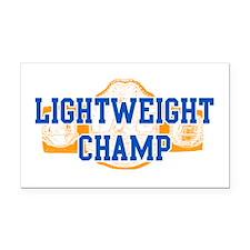 Lightweight Champ! Rectangle Car Magnet