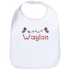 Waylon, Christmas Bib