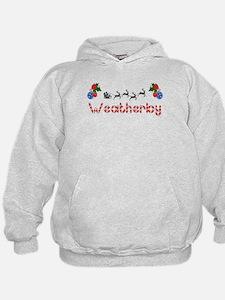 Weatherby, Christmas Hoodie