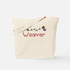 Weaver, Christmas Tote Bag