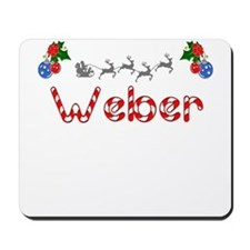 Weber, Christmas Mousepad