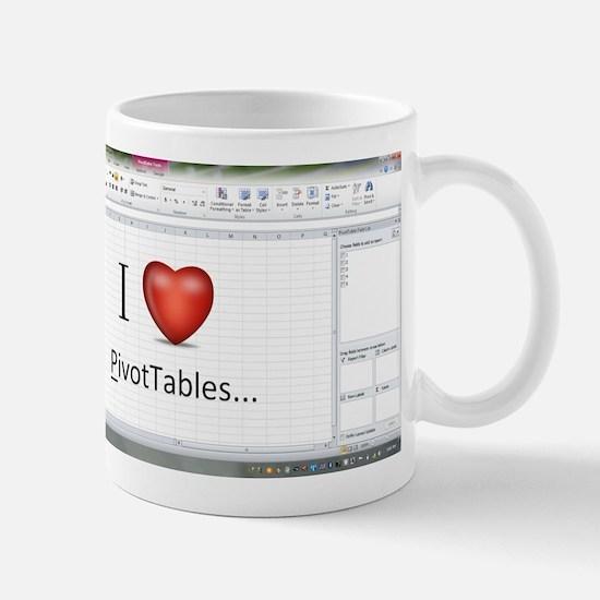 officegeek_pivottables2010 Mugs
