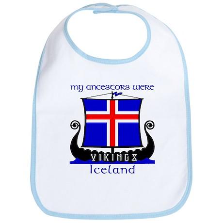 Icelandic Viking Ancestors Bib