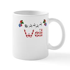 Weil, Christmas Mug