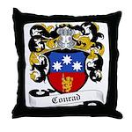 Conrad Coat of Arms Throw Pillow