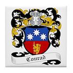 Conrad Coat of Arms Tile Coaster