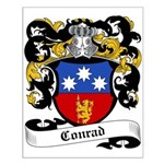 Conrad Coat of Arms Small Poster
