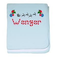 Wenger, Christmas baby blanket
