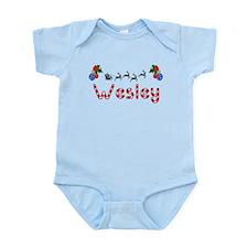 Wesley, Christmas Infant Bodysuit